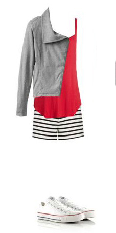 white-shorts-stripe-grayl-jacket-moto-white-shoe-sneakers-converse-casual-red-cami-spring-summer-weekend.jpg