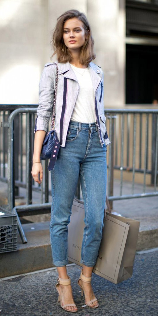 blue-med-skinny-jeans-white-tee-howtowear-style-fashion-fall-winter-grayl-jacket-moto-blue-bag-tan-shoe-sandalh-hairr-lunch.jpg