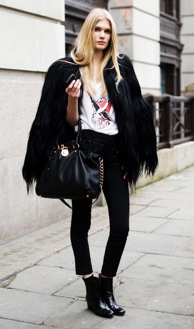black-skinny-jeans-white-tee-black-shoe-sneakers-howtowear-style-fashion-fall-winter-black-jacket-coat-fur-fuzz-black-bag-blonde-lunch.jpg