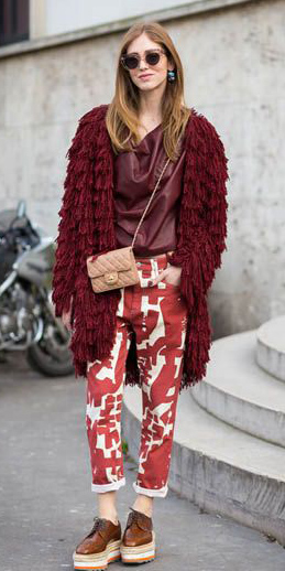 red-boyfriend-jeans-print-tan-bag-burgundy-top-burgundy-cardiganl-blonde-sun-brown-shoe-brogues-tonal-fall-winter-weekend.jpg