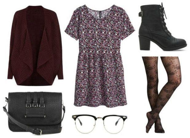 r-burgundy-dress-zprint-grap-burgundy-cardiganl-black-shoe-booties-black-bag-black-tights-howtowear-fashion-style-outfit-fall-winter-print-mini-lunch.jpg