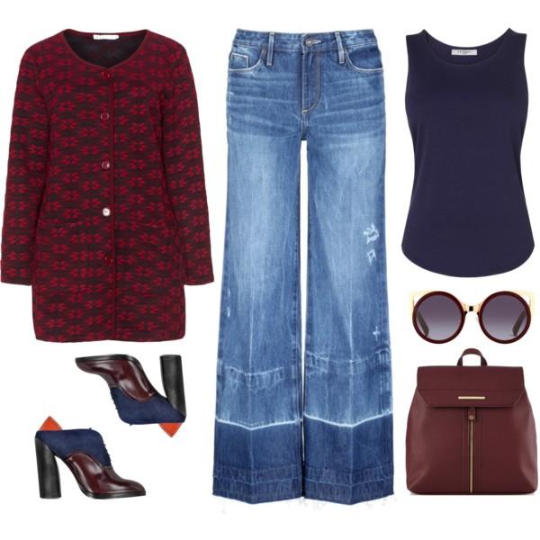 blue-med-flare-jeans-blue-navy-tee-burgundy-bag-sun-blue-shoe-booties-burgundy-cardiganl-print-fall-winter-lunch.jpg