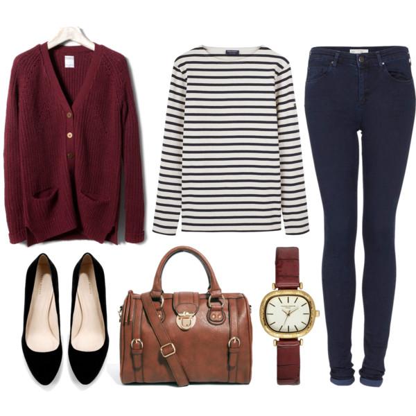 blue-navy-skinny-jeans-black-tee-stripe-r-burgundy-cardiganl-black-shoe-pumps-watch-cognac-bag-howtowear-fashion-style-outfit-fall-winter-weekend.jpg