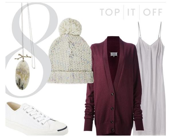 purple-light-dress-burgundy-cardiganl-white-shoe-sneakers-howtowear-fashion-style-outfit-fall-winter-pend-necklace-beanie-slip-weekend.jpg