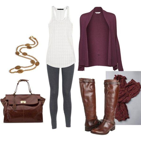 grayd-leggings-white-tank-brown-shoe-boots-brown-bag-necklace-socks-burgundy-cardiganl-fall-winter-weekend.jpg