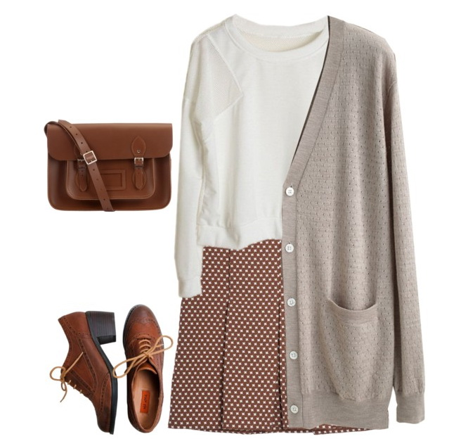 o-camel-mini-skirt-white-top-cognac-bag-howtowear-fashion-style-outfit-fall-winter-tan-cardiganl-print-pleats-cognac-shoe-brogues-work.jpg