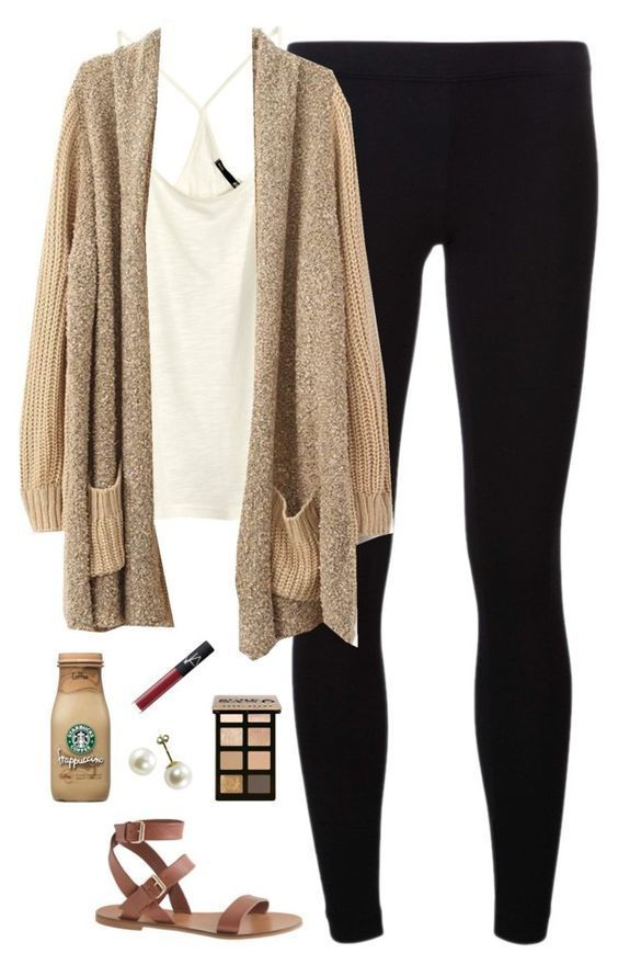 black-leggings-white-cami-tan-cardiganl-cognac-shoe-sandals-pearl-studs-howtowear-fashion-style-outfit-spring-summer-weekend.jpg