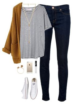 blue-navy-skinny-jeans-white-stripes-camel-cardiganl-howtowear-fashion-style-outfit-fall-winter-white-shoe-sneakers-necklace-weekend.jpg