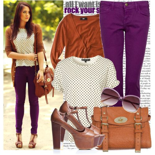 purple-royal-skinny-jeans-white-top-dot-print-camel-cardiganl-brown-shoe-sandalh-cognac-bag-sun-howtowear-fashion-style-outfit-fall-winter-hairr-lunch.jpg