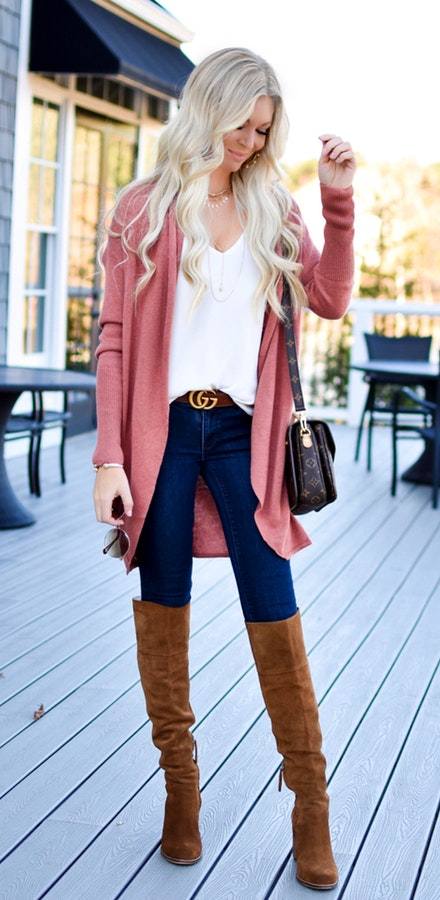blue-navy-skinny-jeans-white-cami-blonde-belt-orange-cardiganl-cognac-shoe-boots-fall-winter-weekend.jpg