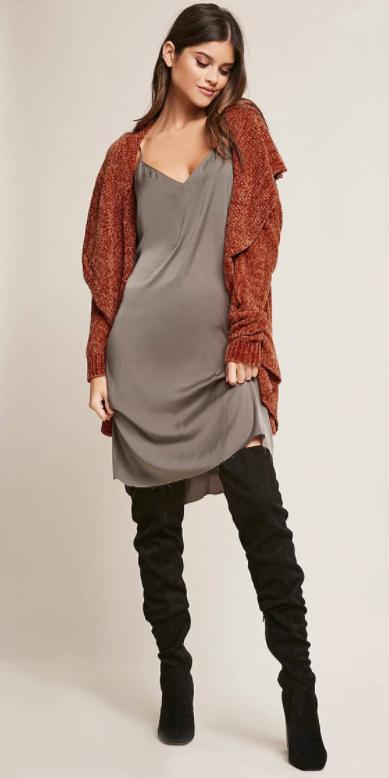 grayd-dress-slip-black-shoe-boots-otk-orange-cardiganl-fall-winter-hairr-lunch.jpg