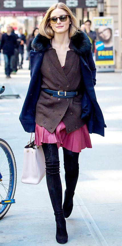 r-pink-magenta-dress-brown-cardiganl-belt-sun-oliviapalermo-mini-wear-style-fashion-fall-winter-black-shoe-boots-black-jacket-coat-pleat-hairr-lunch.jpg
