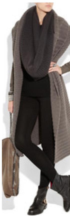 black-leggings-black-tee-grayd-scarf-brown-cardiganl-duster-tan-bag-black-shoe-booties-wear-outfit-fashion-fall-winter-weekend.jpg