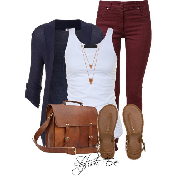 burgundy-skinny-jeans-white-top-tank-blue-navy-cardiganl-cognac-bag-cognac-shoe-sandals-necklace-howtowear-fashion-style-outfit-spring-summer-weekend.jpg