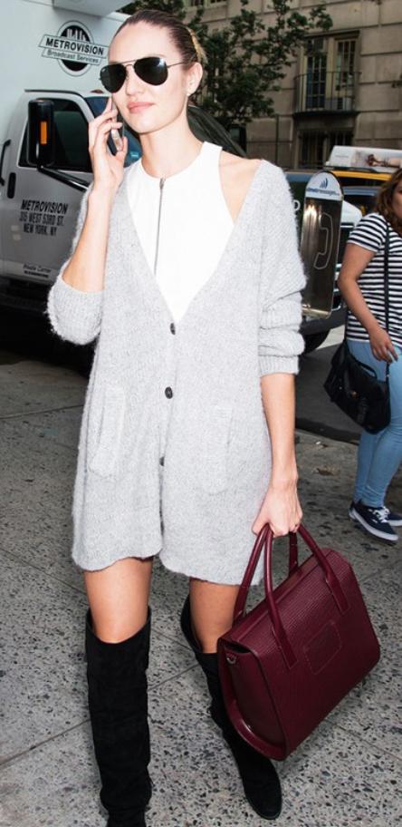 white-dress-grayl-cardiganl-black-shoe-boots-sun-burgundy-bag-hand-bun-howtowear-fashion-style-outfit-fall-winter-bodycon-blonde-lunch.jpg