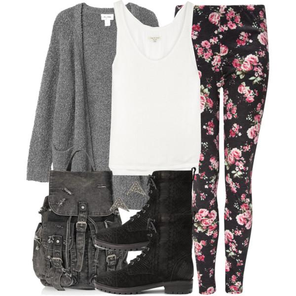 r-pink-light-leggings-zprint-white-top-tank-wear-outfit-fashion-fall-winter-black-shoe-booties-grayl-cardiganl-black-bag-pack-floral-weekend.jpg