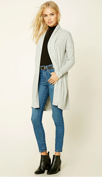 blue-med-skinny-jeans-black-tee-grayl-cardiganl-turtle-wear-outfit-fashion-fall-winter-black-shoe-booties-forever21-blonde-lunch.jpg