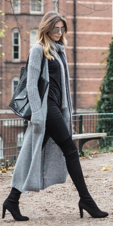 black-skinny-jeans-grayl-scarf-black-shoe-boots-otk-sun-black-bag-grayl-cardiganl-fall-winter-blonde-lunch.jpg