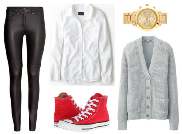 black-leggings-white-collared-shirt-grayl--cardiganl-howtowear-fashion-style-outfit-fall-winter-leather-red-shoe-sneakers-watch-lunch.jpg