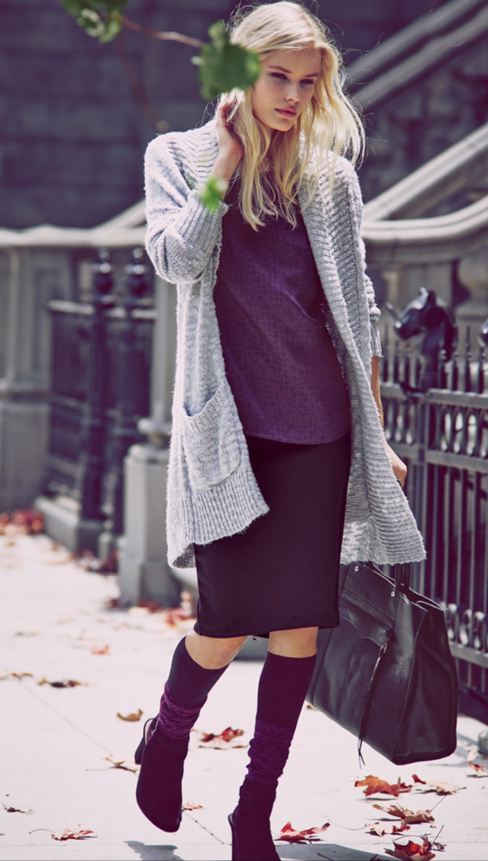 black-pencil-skirt-purple-royal-top-howtowear-style-fashion-fall-winter-black-bag-tote-grayl-cardiganl-socks-kneehigh-black-shoe-sandalh-blonde-weekend.jpg