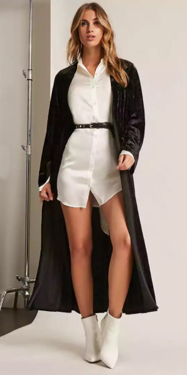 white-dress-shirt-belt-white-shoe-booties-black-cardiganl-fall-winter-blonde-lunch.jpg