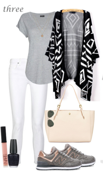 white-skinny-jeans-grayl-tee-howtowear-fashion-style-outfit-fall-winter-aztec-print-black-cardiganl-cape-gray-shoe-sneakers-white-bag-nail-weekend.jpg