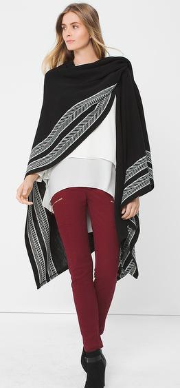 burgundy-skinny-jeans-white-top-howtowear-style-fashion-fall-winter-black-cardiganl-black-shoe-booties-cape-blonde-weekend.jpg