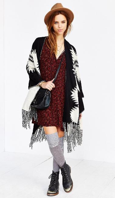 r-burgundy-dress-black-cardiganl-poncho-black-shoe-booties-hat-black-bag-crossbody-socks-fall-winter-mini-hairr-weekend.jpg