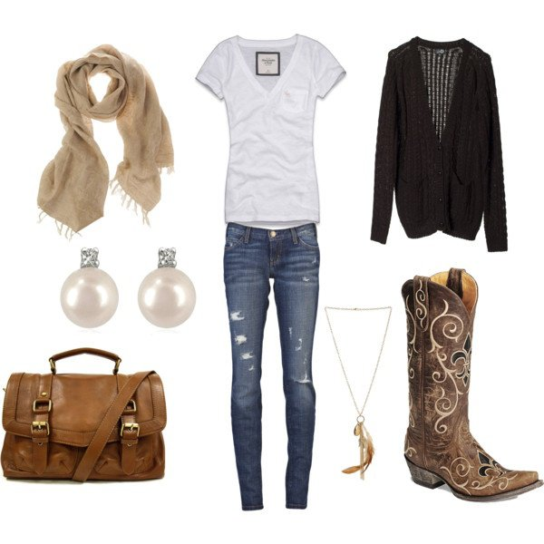 blue-med-skinny-jeans-white-tee-tan-scarf-brown-shoe-boots-pearl-studs-necklace-pend-cognac-bag-black-cardiganl-howtowear-fashion-style-outfit-fall-winter-weekend.jpg