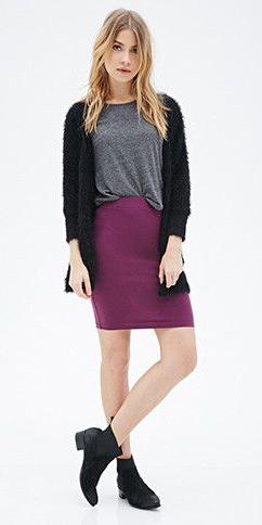 purple-royal-mini-skirt-grayd-tee-black-cardiganl-black-shoe-booties-fall-winter-blonde-weekend.jpg