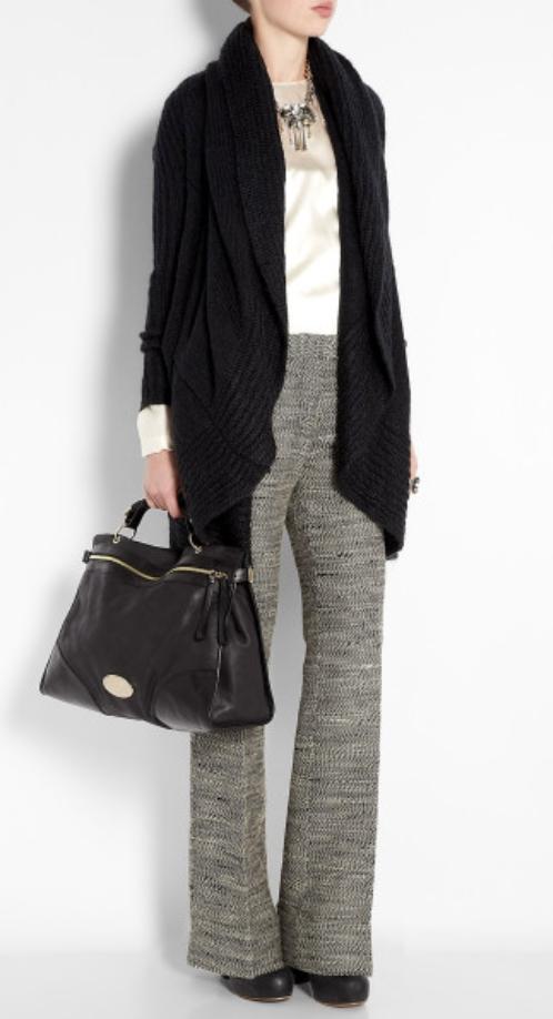 grayl-pants-wideleg-white-top-blouse-black-bag-black-shoe-booties-bun-howtowear-fashion-style-outfit-fall-winter-black-cardiganl-tweed-bib-necklace-work.jpg