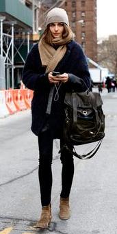 black-skinny-jeans-black-cardiganl-beanie-tan-shoe-booties-howtowear-style-fashion-fall-winter-tan-scarf-model-street-hairr-lunch.jpg