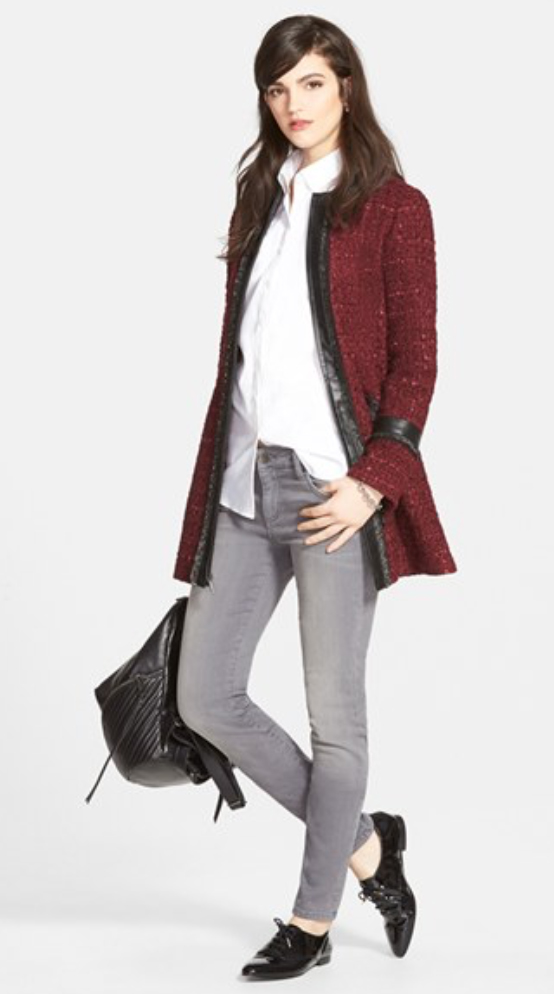 grayl-skinny-jeans-white-collared-shirt-black-shoe-brogues-black-bag-howtowear-style-fashion-fall-winter-burgundy-jacket-coat-brun-lunch.jpg