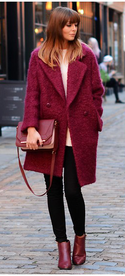 black-skinny-jeans-white-sweater-r-burgundy-jacket-coat-red-bag-red-shoe-booties-howtowear-fashion-style-outfit-fall-winter-fuzzy-basic-hairr-work.jpg