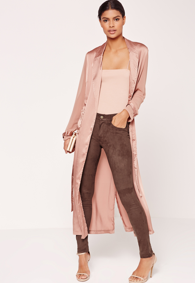 brown-leggings-suede-pink-light-tank-pink-light-jacket-coat-silk-brun-bun-tan-shoe-sandalh-fall-winter-dinner.jpg