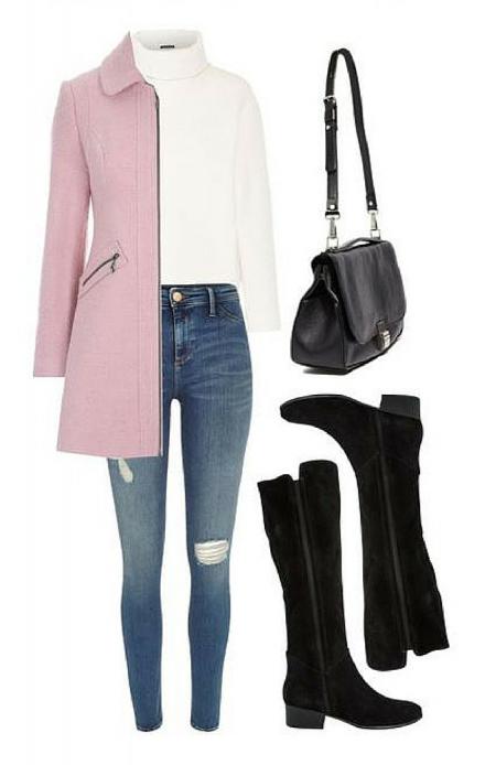blue-med-skinny-jeans-white-tee-r-pink-light-jacket-coat-howtowear-fashion-style-outfit-fall-winter-pastel-black-shoe-boots-turtleneck-black-bag-work.jpg