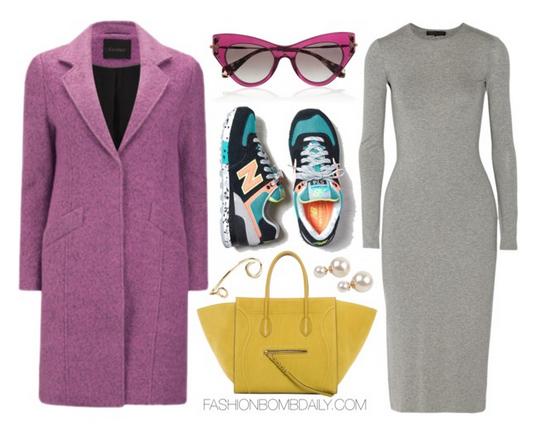 grayl-dress-sweater-yellow-bag-tote-blue-shoe-sneakers-pink-light-jacket-coat-sun-fall-winter-lunch.jpg