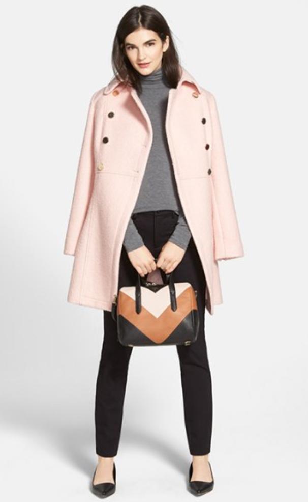 black-slim-pants-grayl-sweater-pink-light-jacket-coat-tan-bag-hand-black-shoe-flats-howtowear-turtleneck-fall-winter-brun-work.jpg