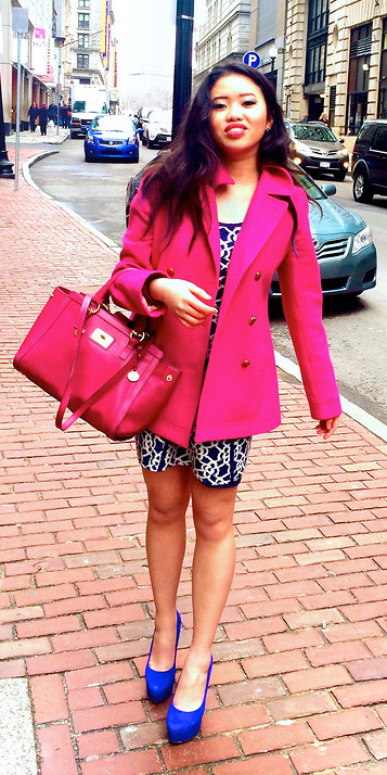 pink-bag-blue-shoe-pumps-brun-pink-magenta-jacket-coat-peacoat-fall-winter-lunch.jpg