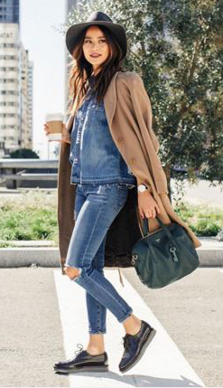 blue-med-skinny-jeans-blue-med-collared-shirt-camel-jacket-coat-howtowear-fashion-style-outfit-fall-winter-denim-chambray-jamiechung-black-shoe-brogues-hat-celebrity-brun-lunch.jpg