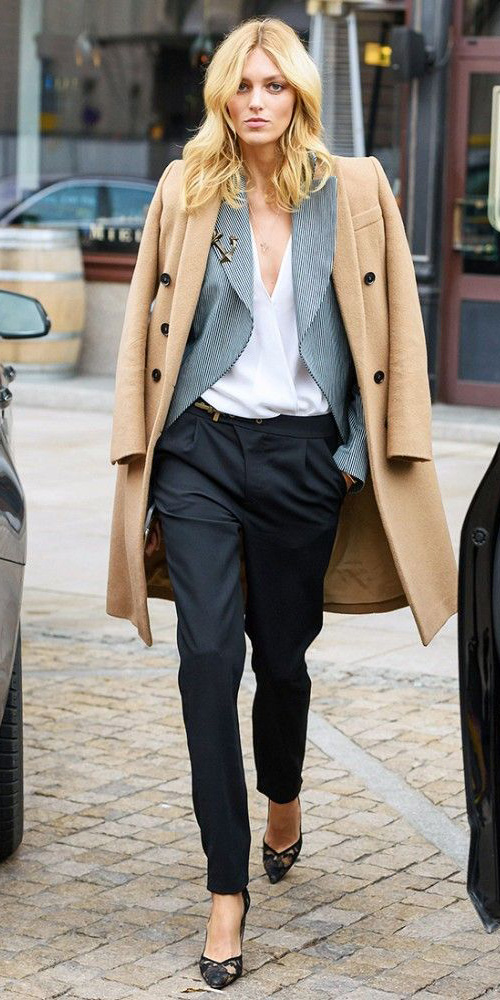 black-joggers-pants-white-top-blouse-grayl-jacket-blazer-black-shoe-pumps-camel-jacket-coat-howtowear-fashion-style-outfit-fall-winter-layer-blonde-work.jpg