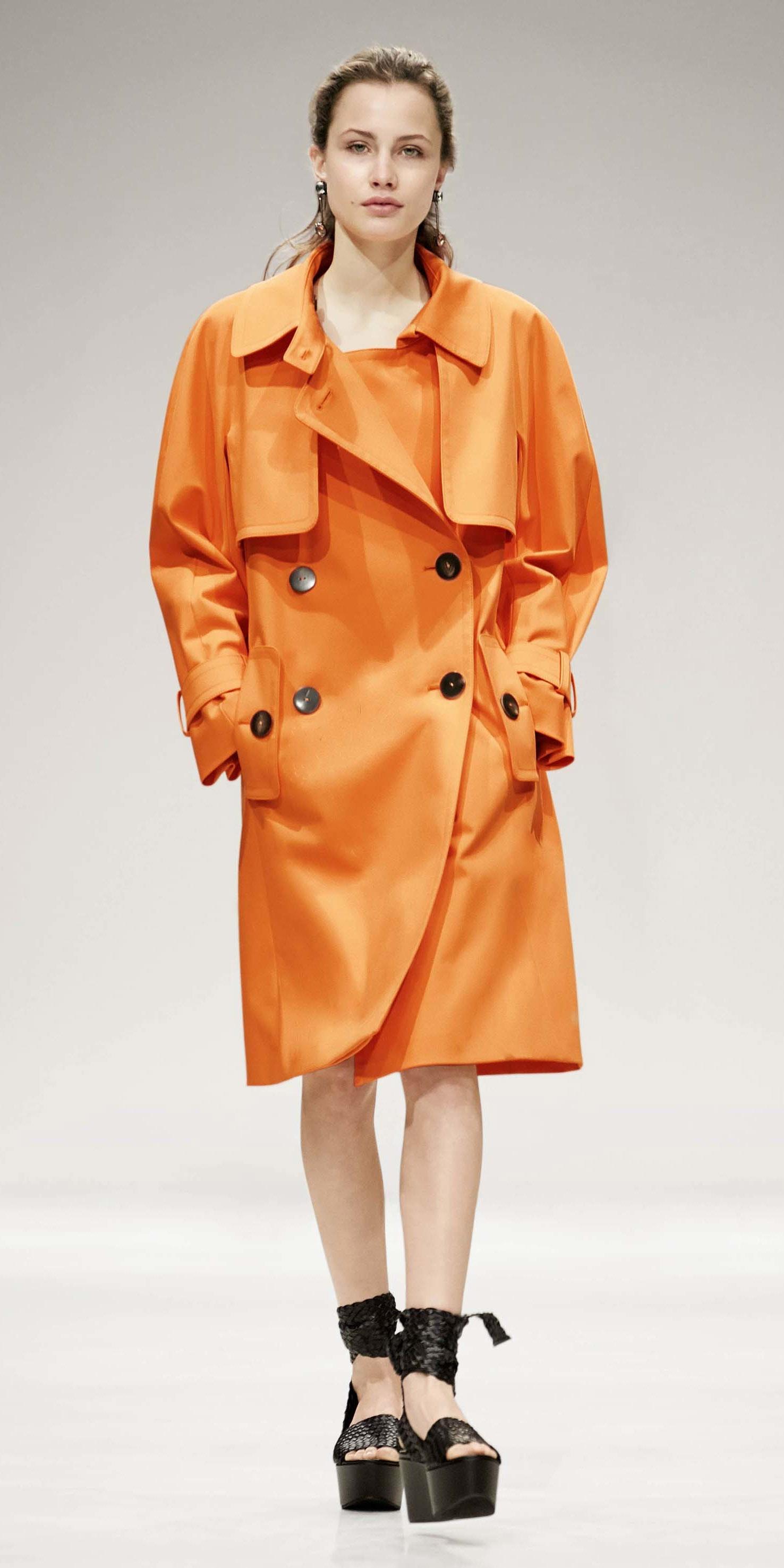 orange-jacket-coat-trench-black-shoe-sandalw-hairr-spring-summer-dinner.jpg