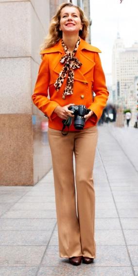 tan-wideleg-pants-blonde-orange-jacket-coat-peacoat-fall-winter-lunch.jpg