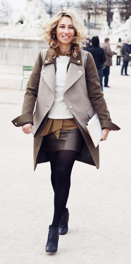 brown-mini-skirt-camel-collared-shirt-white-sweater-brown-jacket-coat-blonde-fall-winter-lunch.jpg