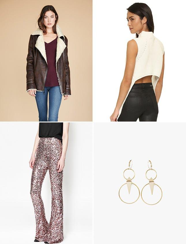 tan-wideleg-pants-sequin-gold-white-sweatersl-earrings-brown-jacket-coat-nye-shearling-newyearseve-fall-winter-dinner.jpg