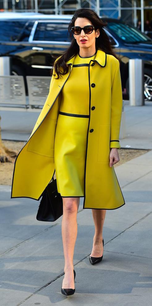 yellow-dress-shift-mono-yellow-jacket-coat-amalclooney-brun-sun-black-bag-black-shoe-pumps-fall-winter-work.jpg