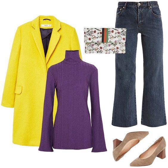 blue-navy-crop-jeans-purple-royal-sweater-turtleneck-tan-shoe-pumps-white-bag-yellow-jacket-coat-fall-winter-lunch.jpg