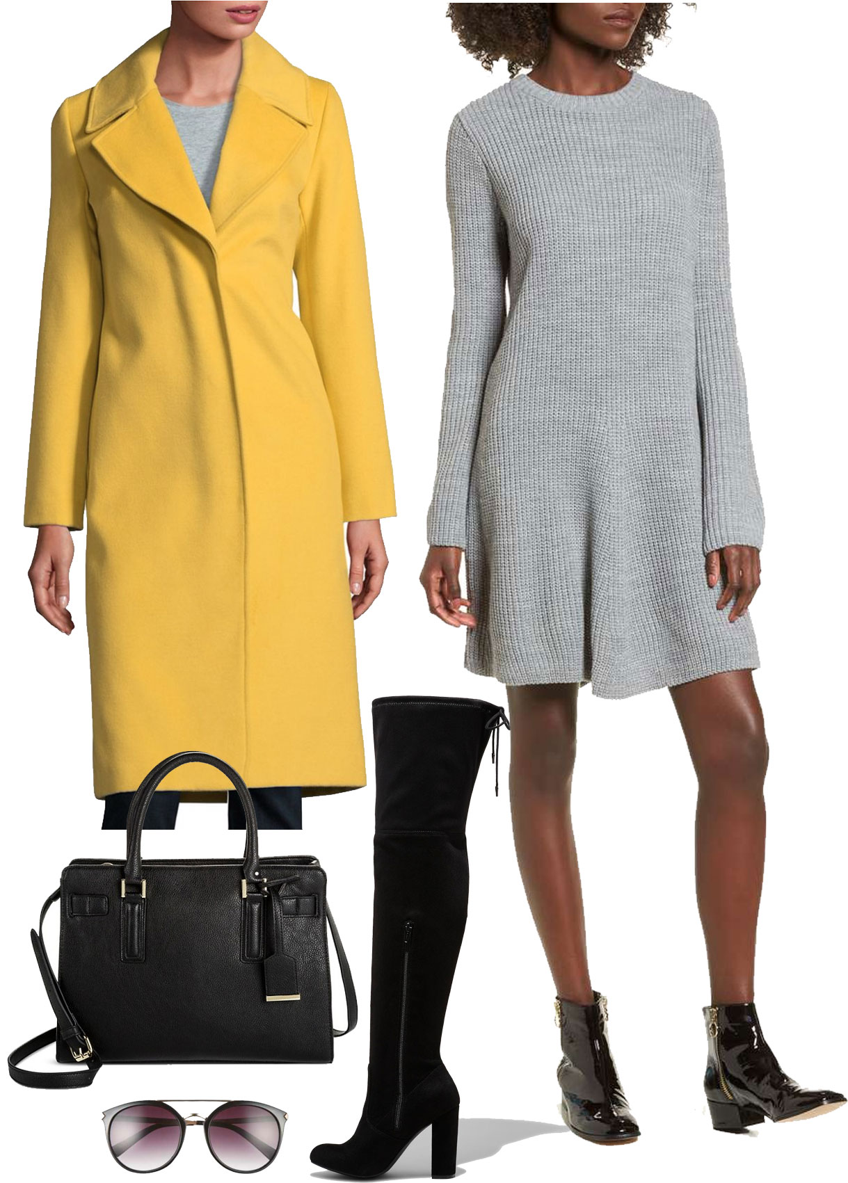 grayl-dress-sweater-yellow-jacket-coat-black-bag-sun-black-shoe-boots-otk-gabrielleunion-fall-winter-lunch.jpg