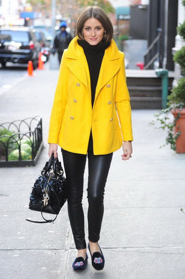 black-skinny-jeans-black-shoe-loafers-black-sweater-turtleneck-hairr-black-bag-yellow-jacket-coat-peacoat-fall-winter-lunch.jpg