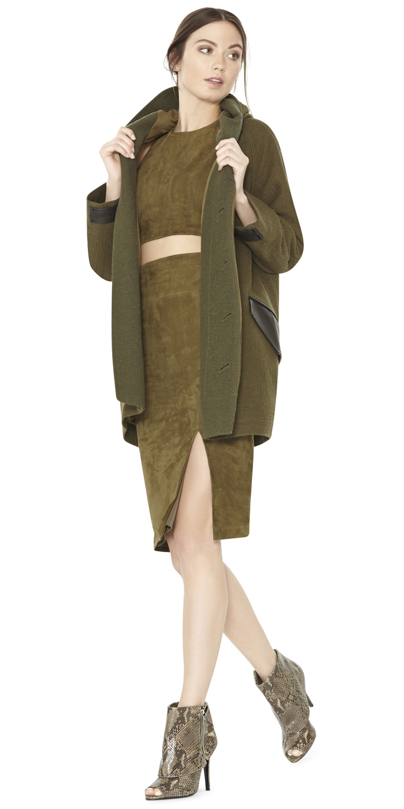 green-olive-pencil-skirt-green-olive-crop-top-matchset-hairr-bun-green-olive-jacket-coat-fall-winter-dinner.jpeg